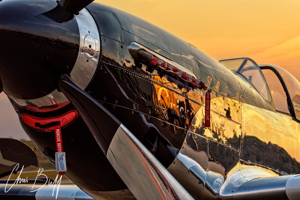 Golden Hour & Quick Silver - By Christopher Buff, www.Aviationbuff.com