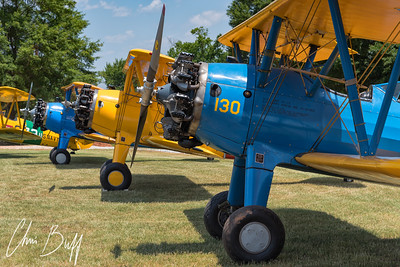 Row of Stearman