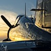 Corsair Reflections - By Christopher Buff, www.Aviationbuff.com