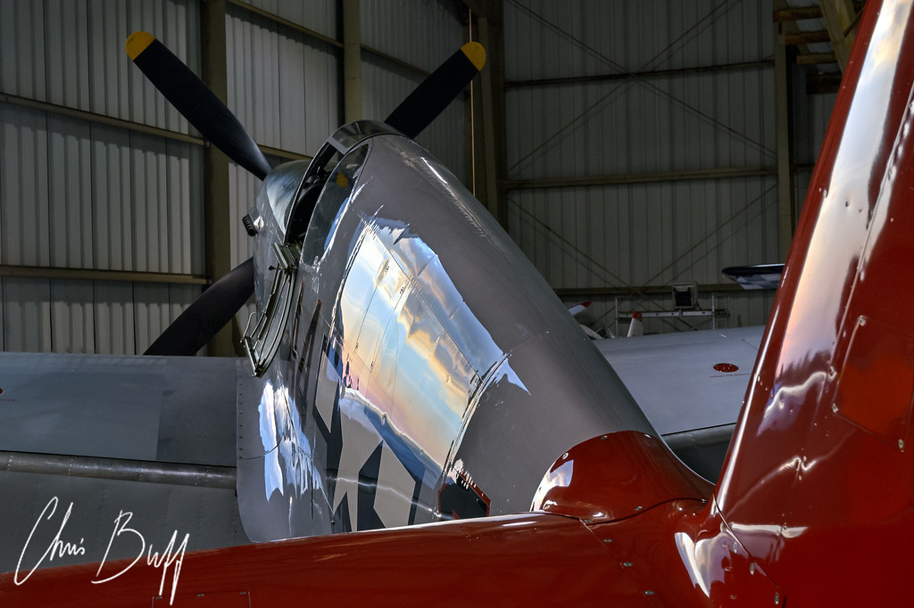 In the stable for the night - 2016 Christopher Buff, www.Aviationbuff.com