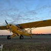 Super Cub at Sunrise - 2016 Christopher Buff, www.Aviationbuff.com