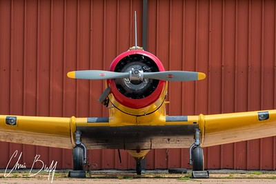 Yale and Hangar - 2018 Christopher Buff, www.Aviationbuff.com