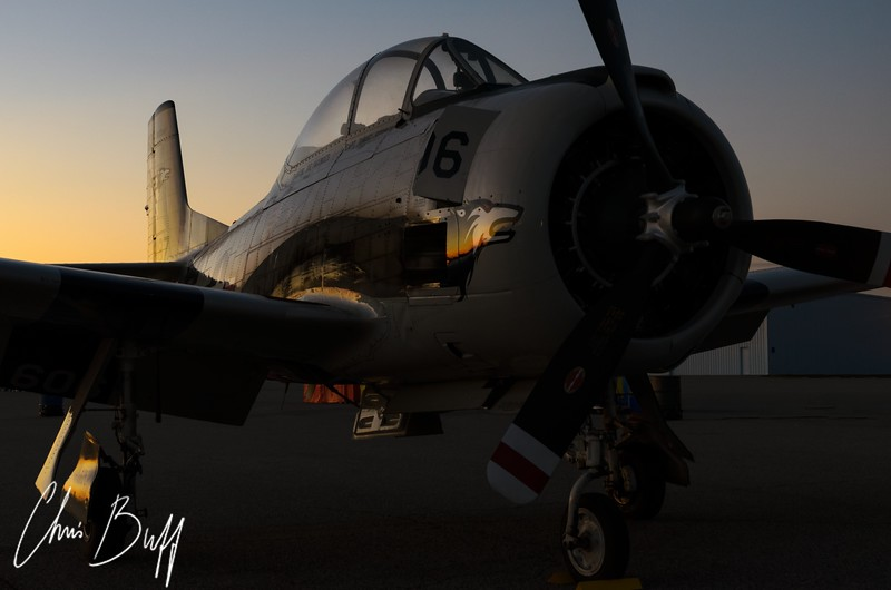 Trojan Twilight - Christopher Buff, www.Aviationbuff.com