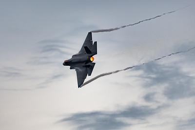 F-35 at Dusk