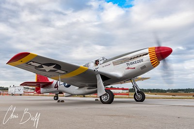 Red Tail Mustang - 2017 Christopher Buff, www.Aviationbuff.com