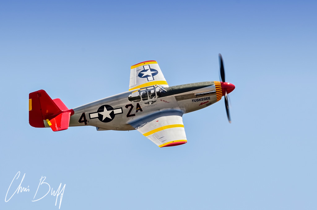 Red Tail Mustang - 2012 Chris Buff