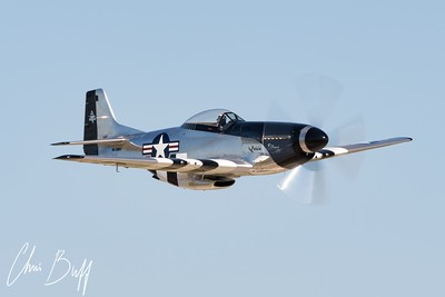 Mustang Flyby - 2017 Christopher Buff, www.Aviationbuff.com