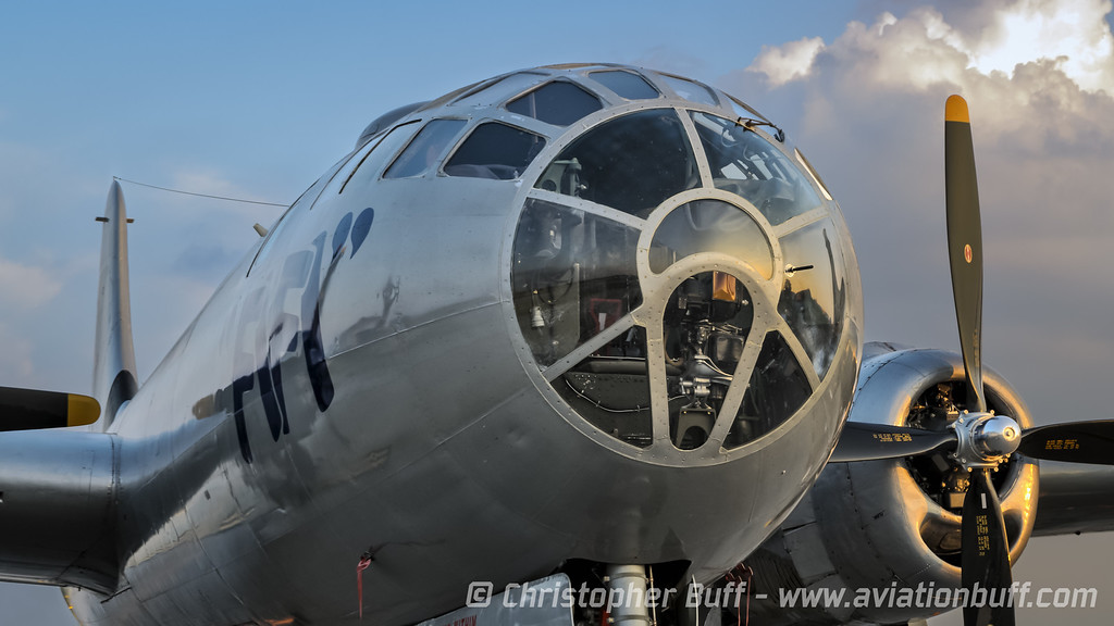 FIFI at Sundown - By Christopher Buff, www.Aviationbuff.com