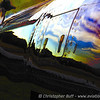 Reflections of Nightfall, Sunset on the beautiful metal of the P-51D Mustang Glamorous Gal