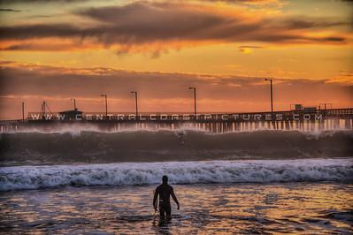 avila beach surfer waves 9761