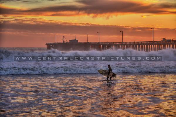 avila beach surfer waves 9763