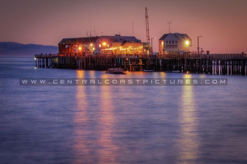 harford pier night 1827