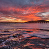 avila beach pier sunset 9856