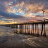 avila beach pier sunset 9720