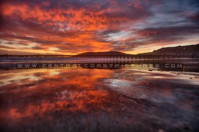 avila sunset reflections 9839