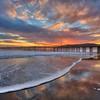 avila pier sunset 9727