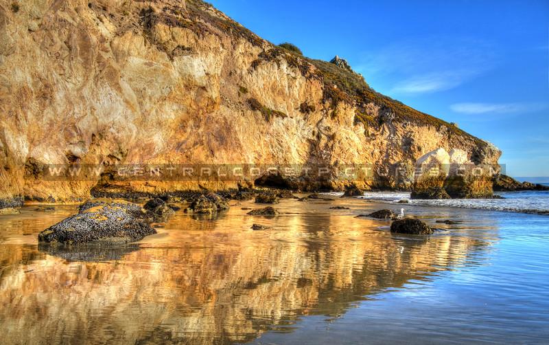 Avila Beach reflection
