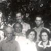 Top L-R:  Uncle Pete, Aunt Rosa, Uncle Manuel, Magdaleno Avila;  Bottom L-R:  Cruz Avila, Papa Leno, Uncle Marcos, Aunt Tilly, Carmen Lara Avila, Severa Avila