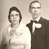 Magdaleno and Carmen Avila - 25th Wedding Anniversary - January 1961