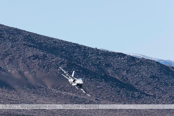 F20170131a144409_0255-Rainbow Canyon-F-18 Super Hornet-Navy-VFA-147-NAS Lemoore