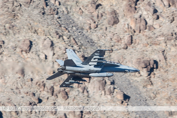 F20170131a144416_0264-Rainbow Canyon-F-18 Super Hornet-Navy-VFA-147-NAS Lemoore