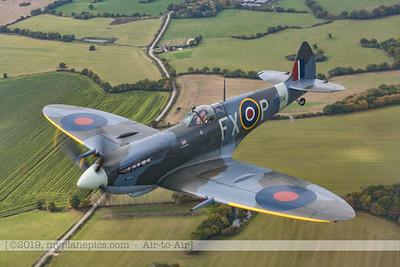 F20171014a120139_2968-Spitfire HF MK IXe TD314-Flt Lt Charlie Brown over White Cliffs of Dover-settings