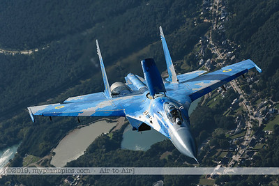 F20190914a161933_3925-Sukhoi Su-27 Flanker-Ukrainian Air Force-39 Blue-Sukhoi Su-27 Flanker-Ukraine Air Force-39 Blue-a2a