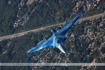 F20190914a161859_3873-Sukhoi Su-27 Flanker-Ukraine Air Force-39 Blue-a2a