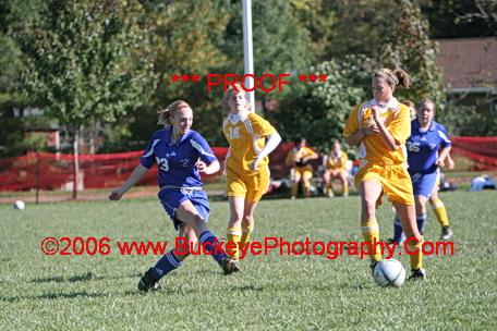 Girls Junior Varisty Soccer