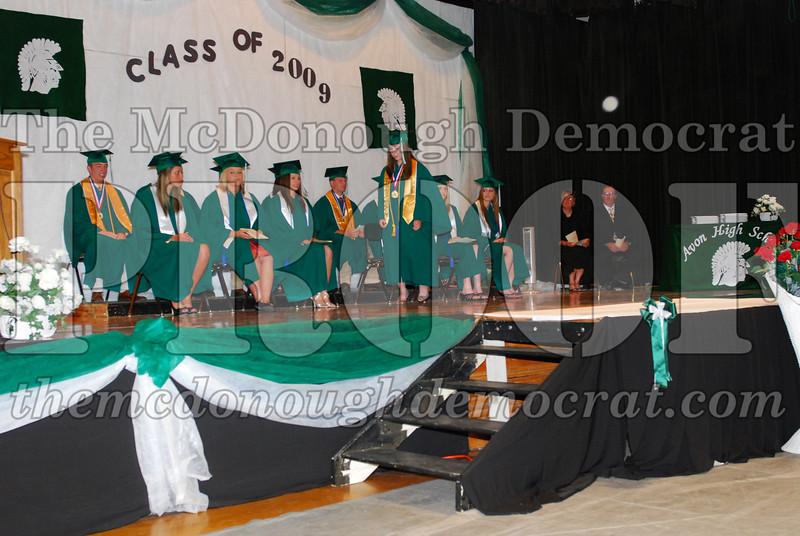 Avon HS Graduation Class of 2009 05-24-09 014