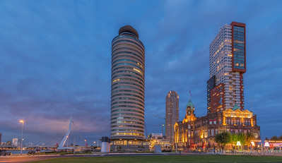 Hotel New York Rotterdam - Erasmusbrug