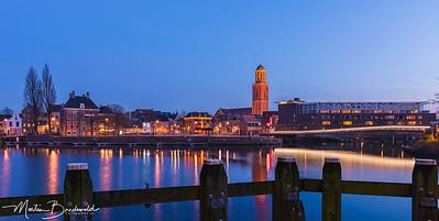 Skyline Zwolle met de peperbus