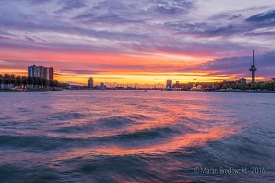 Sunset Rotterdam