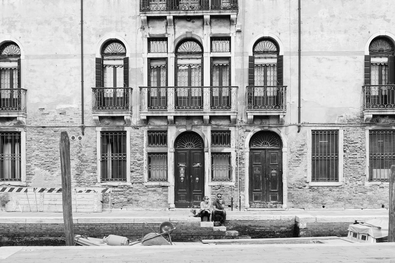 17/45 Le repos et repas des touristes, Fondamenta Alberti.