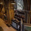The Quire viewed from St.chads head chapel.