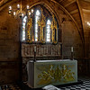 The altar in St.chads head chapel