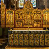 The altar at the lady chapel