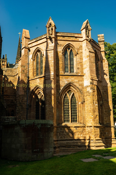 The chapter house exterior