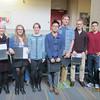 Junior Scholar Award Recipients: Christine Ziegler, Sarah Pristash, Rachel Kasimer, Fulei Peng,  Richard Porter Ladley,  Dylan Gaeta, & Matt Carbone.
