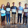 2015-2016 Scholar Award for Juniors Recipients: <br /> Lauren Bolz, Yifei Liang, Paul Wrona, Gavin Piester, Norman Zhao	<br /> <br /> This award recognizes undergraduate students who in their junior year showed outstanding accomplishment and promise for a professional career in chemistry.  The award consists of a certificate and cash prize.