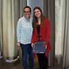 Professor Matson with Merjema Purak (Junior Scholar Award Recipient, Catherine Block Award Recipient)