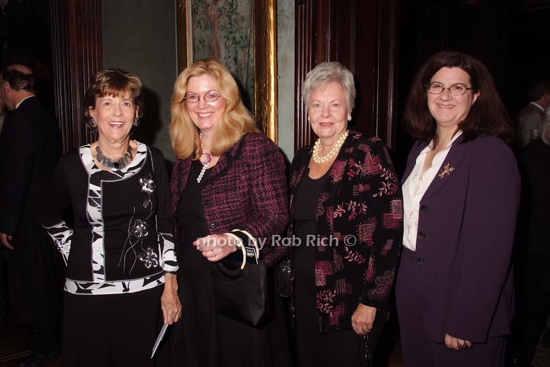 Nancy Sakas, Sara Moose, June Brigg, Deidre Gagion