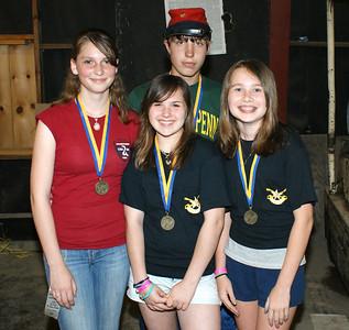 Awards at Spring Nationals, 2009