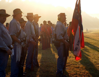 Opening Ceremonies at the 116th Nationals - Fort Shenandoah, Va.  Photo by Ed Engle.