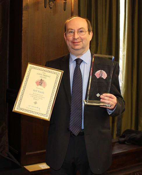 Jeff Smith - Tony Priday Award