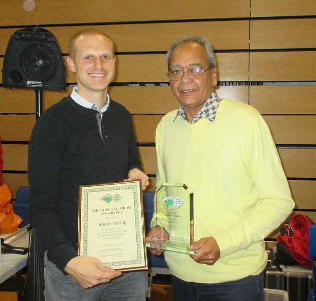 Alec Salisbury Award winner - Stuart Haring