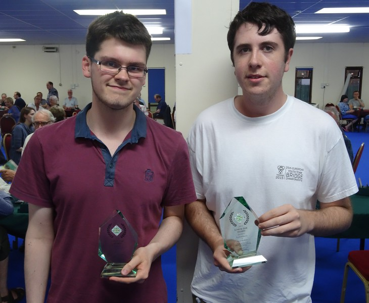 Young Pair of the Year 2015 - Ben Norton & Sam Behrens