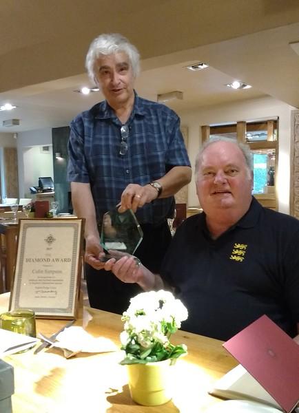 Diamond Award winner, Colin Simpson