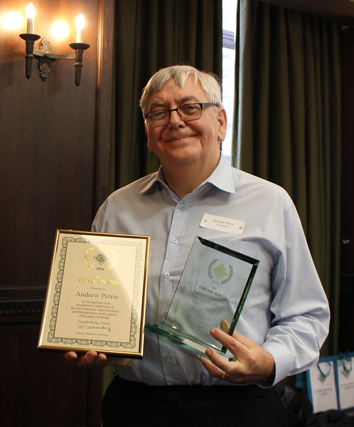 Andrew Petrie - Gold Award