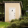 An elegant  outhouse